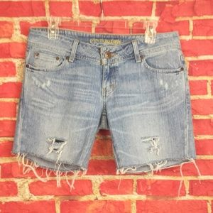 AMERICAN EAGLE AE Artist Cut Off Shorts  Women's 8